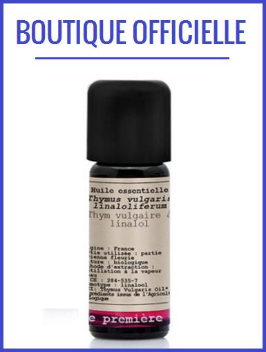 boutique thym huile essentielle