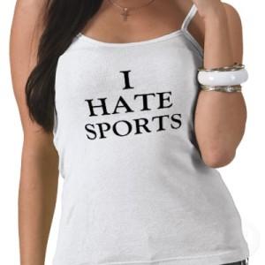 déteste sport