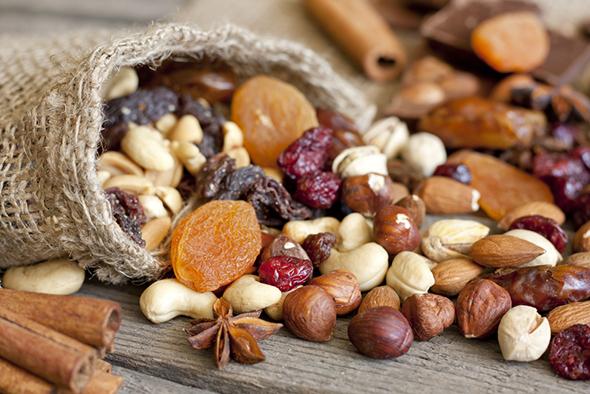 fruits secs santé
