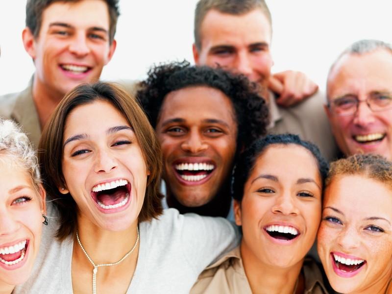 gens qui rigolent