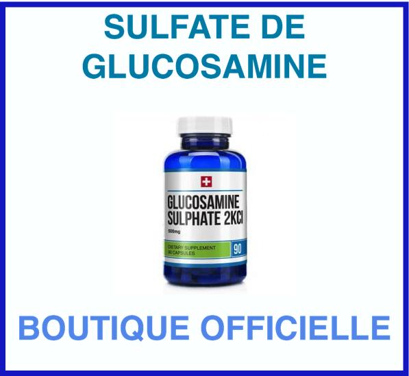 boutique sulfate de glucosamine